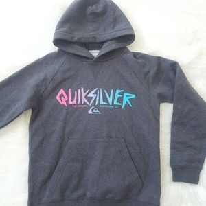 QUIKSILVER  KIDS Pullover Graphic Hoodie